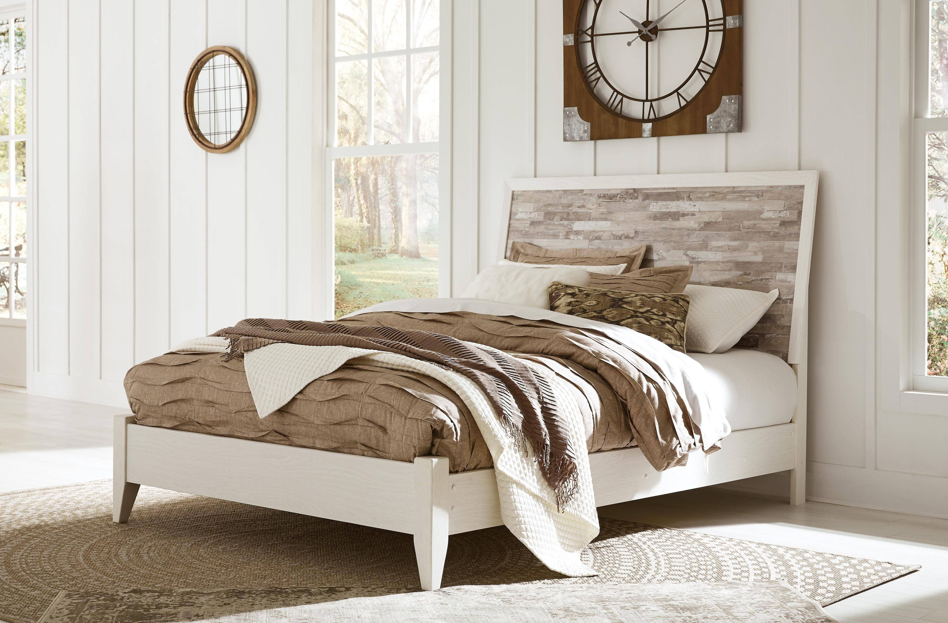 Ashley Furniture Queen Size Bedroom Set Luxury ashley Evanni B315 Queen Size Platform Bedroom Set 6pcs In