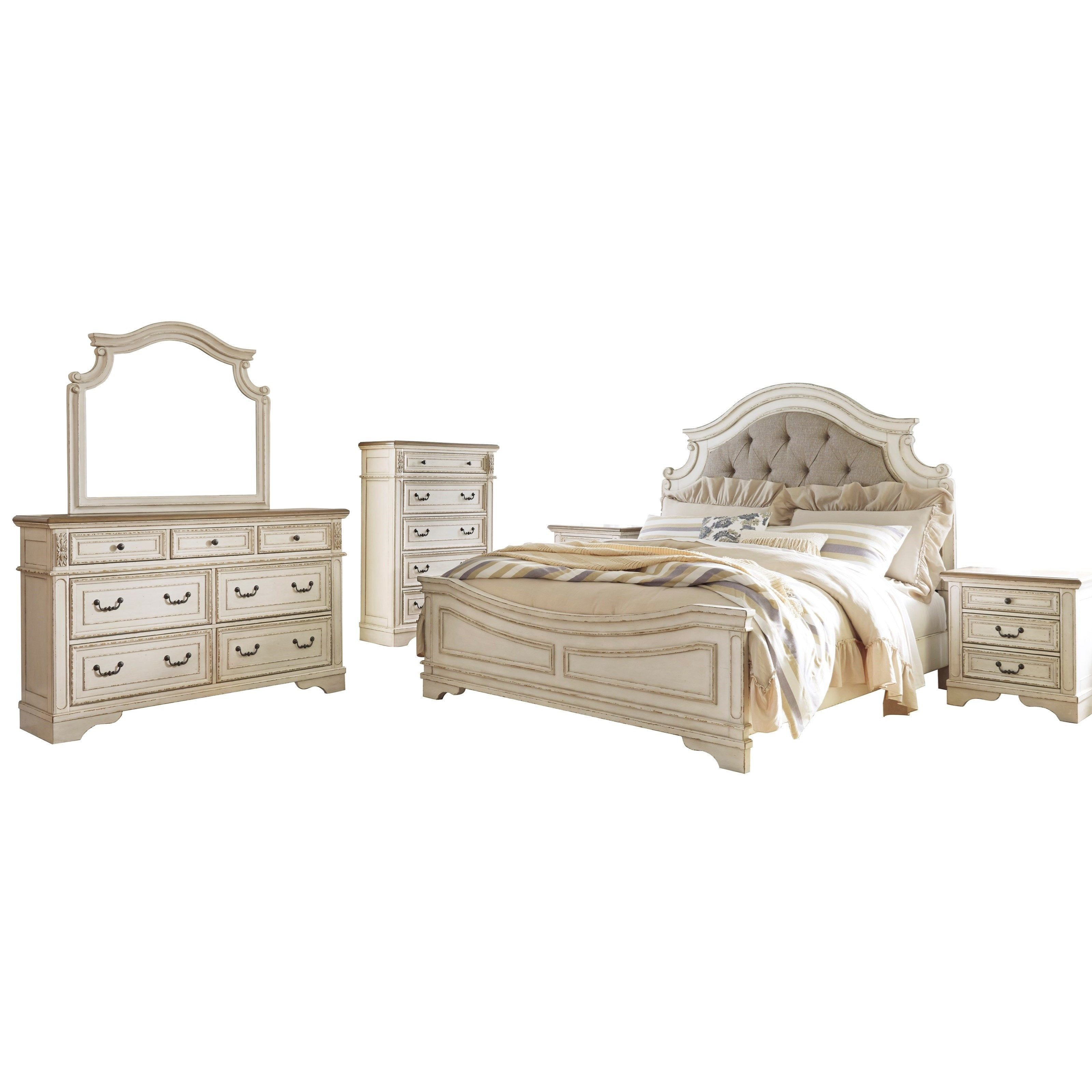 Ashley Furniture Silver Bedroom Set New Realyn Queen Bedroom Group by Signature Design by ashley In