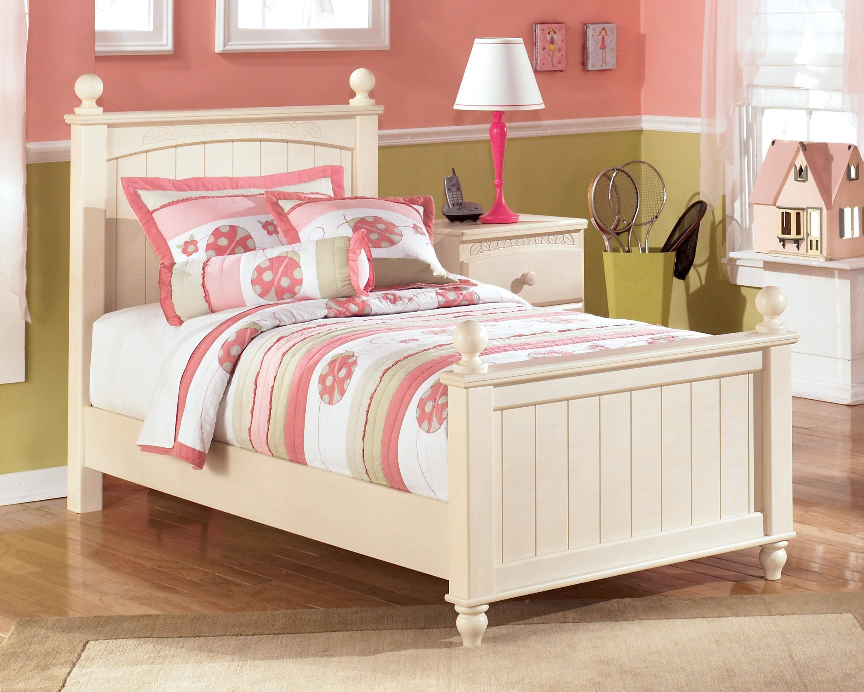 Ashley Girl Bedroom Set Lovely ashley Cottage Retreat B213 Twin Size Poster Bedroom Set