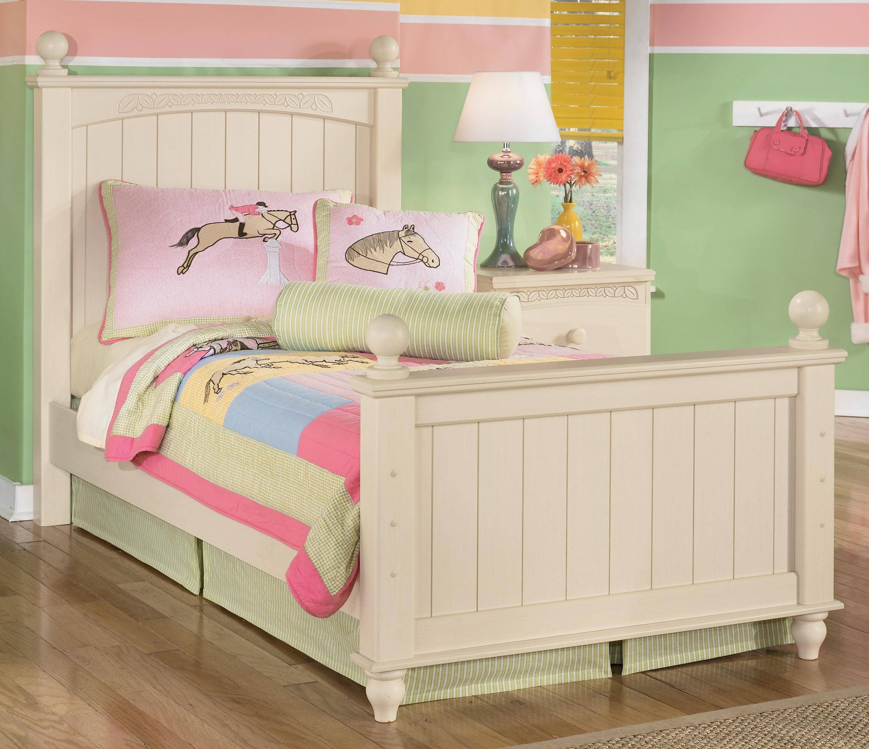 Ashley Girl Bedroom Set Unique ashley Cottage Retreat B213 Twin Size Poster Bedroom Set