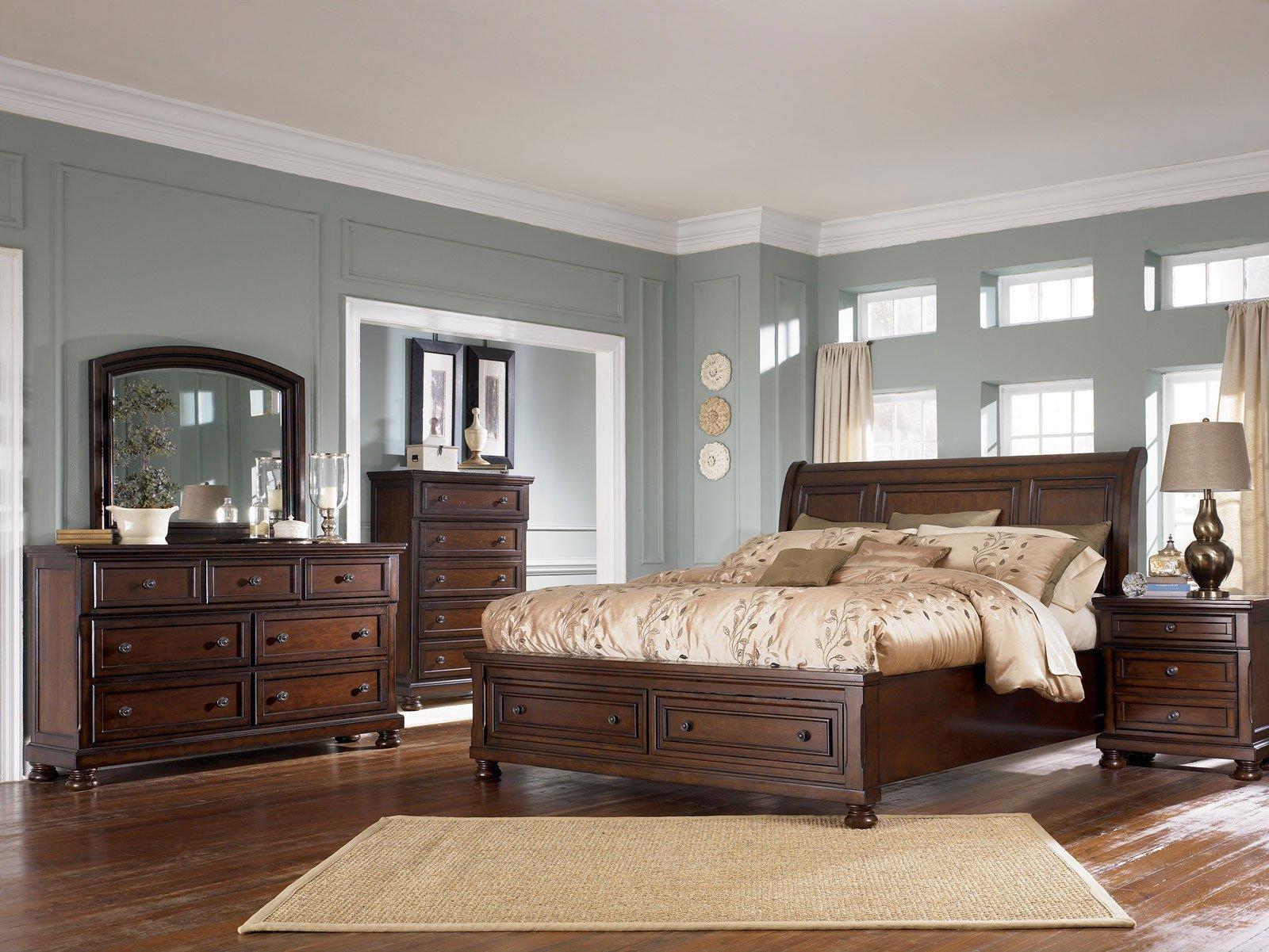 Ashley Porter Bedroom Set Elegant Bedroom Royal Queen Sleigh Bed Frame with Elegant Creative