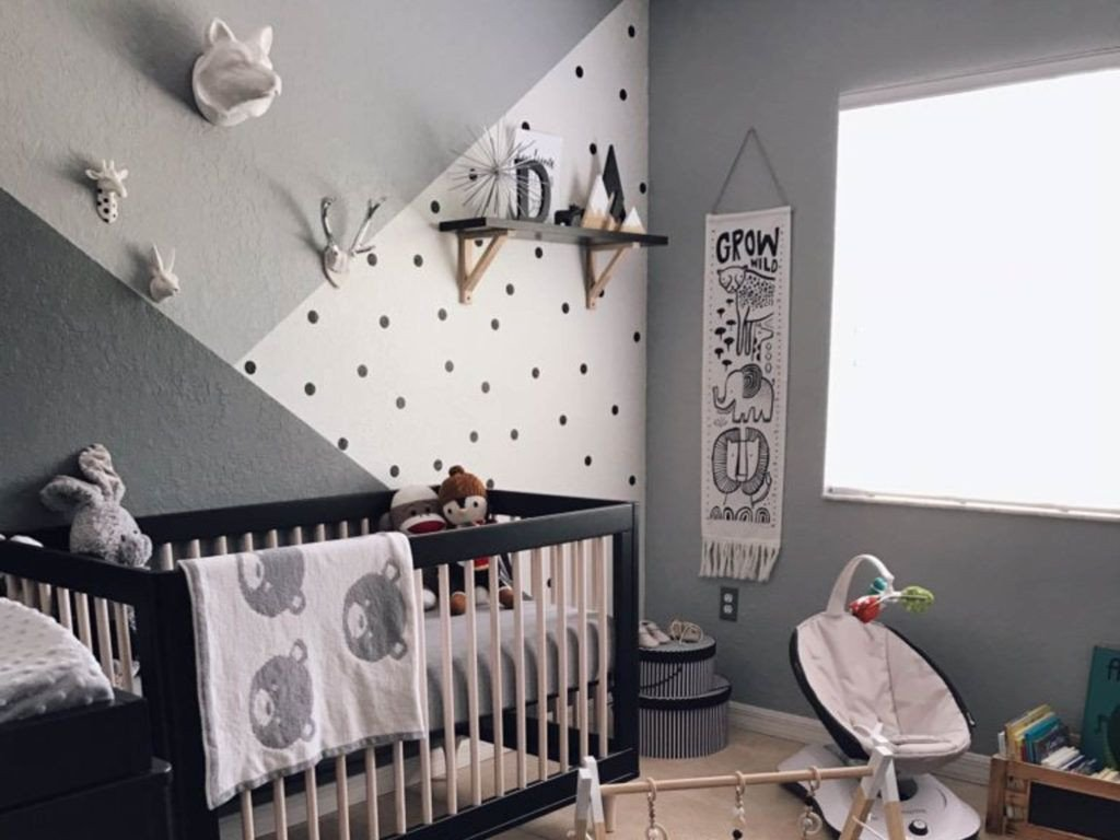 Baby Boy Bedroom Ideas Beautiful 30 Black and White Nursery Looks for A Monochrome Design
