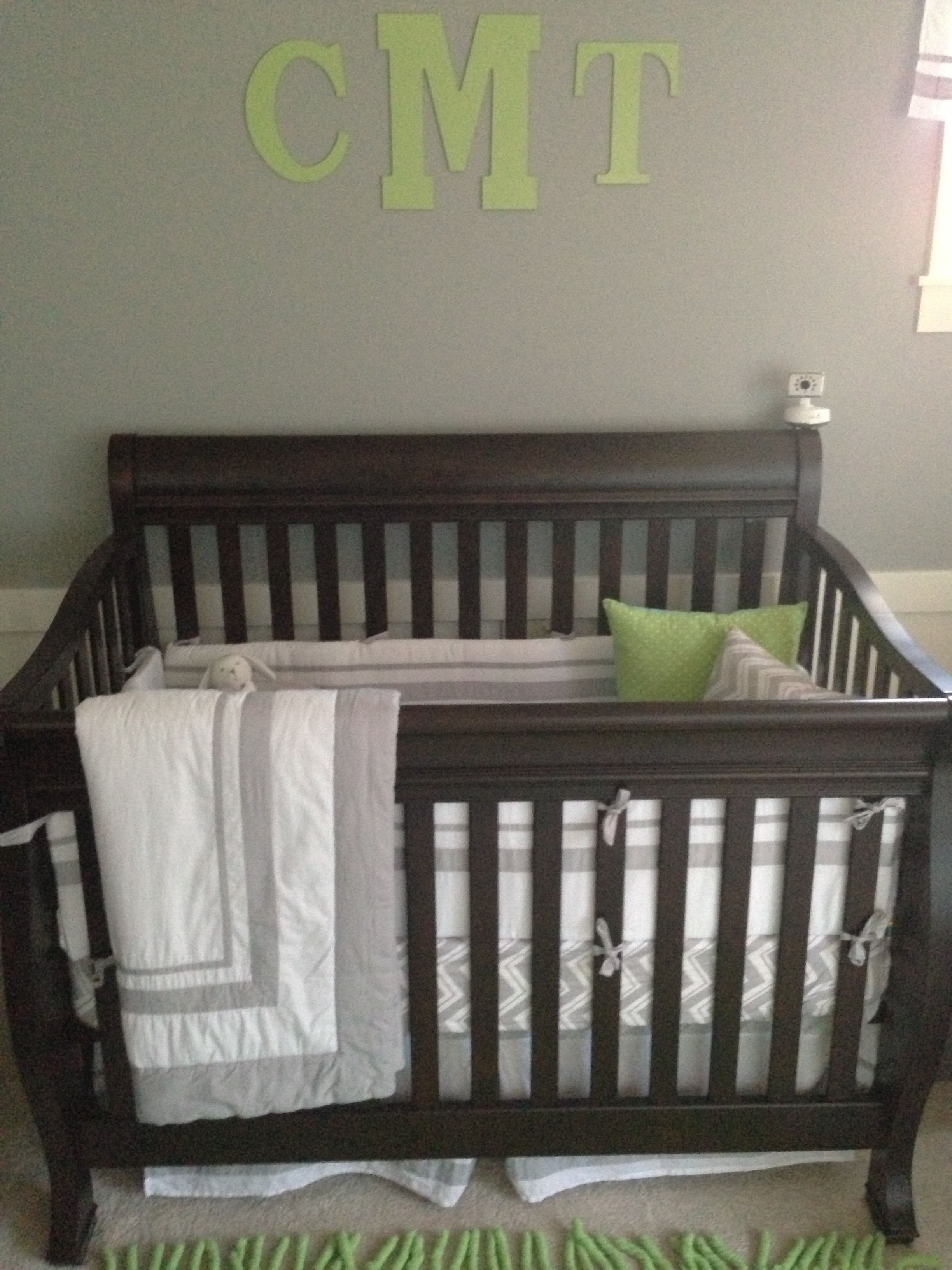 Baby Boy Bedroom Set Fresh Boy Nursery Gray Green