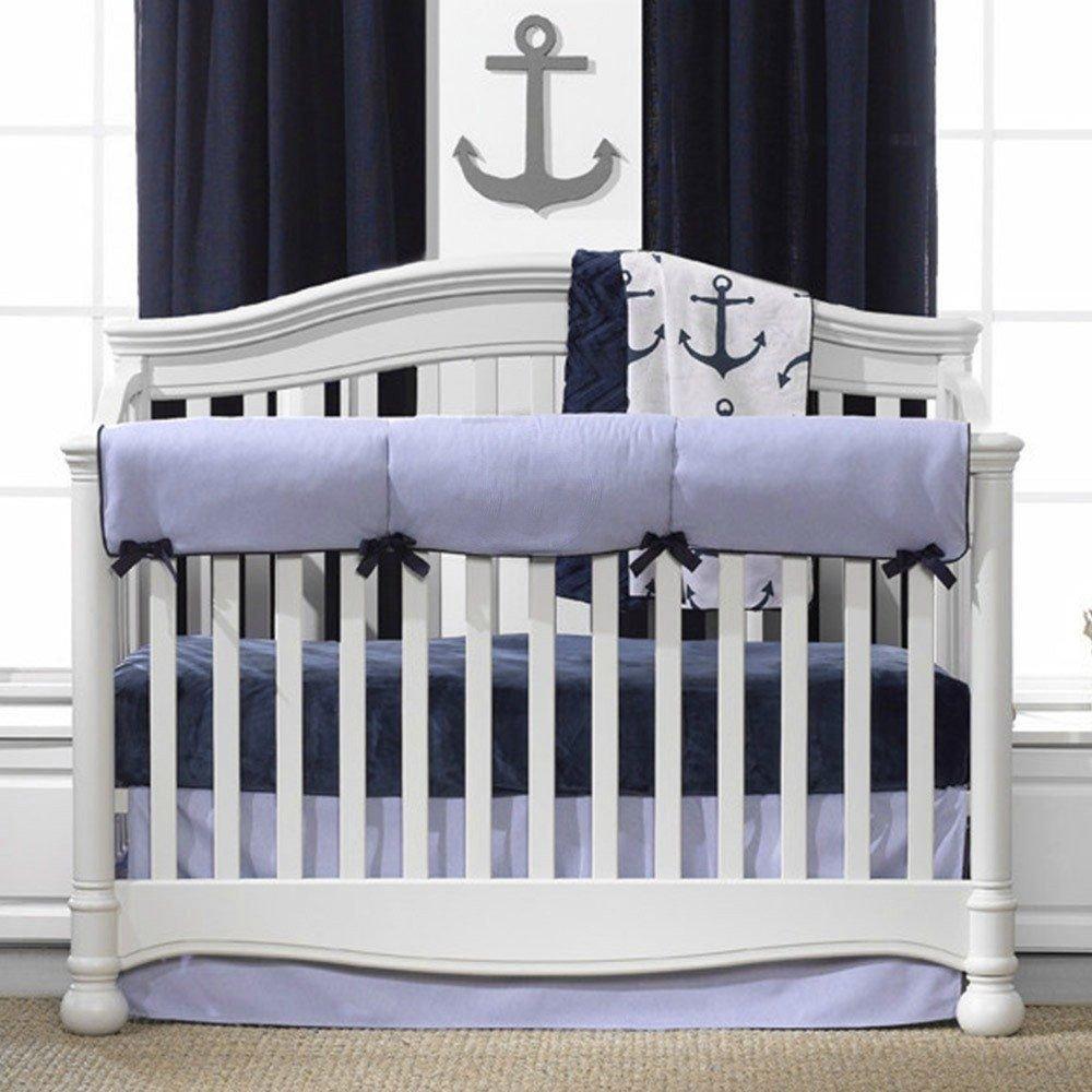 Baby Boy Bedroom Set Fresh Nautical Oxford Crib Bedding Set
