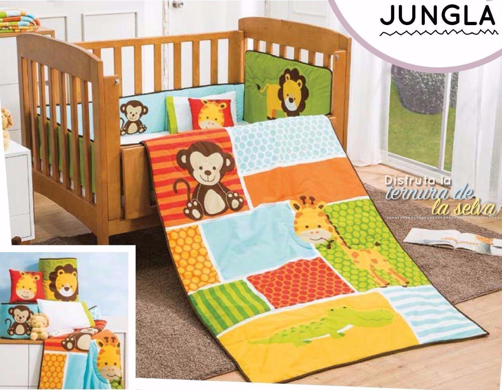 Baby Boy Bedroom Set Luxury 6 Piece Baby Boy Nursery Crib Bedding Set Jungle Multi