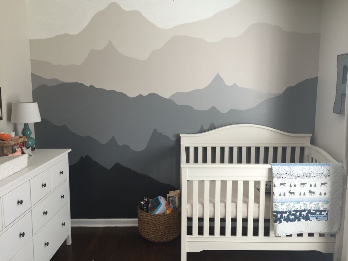 Baby Boy Bedroom theme Elegant Woodland Nursery Gender Neutral Woodland Nursery Diy Gray