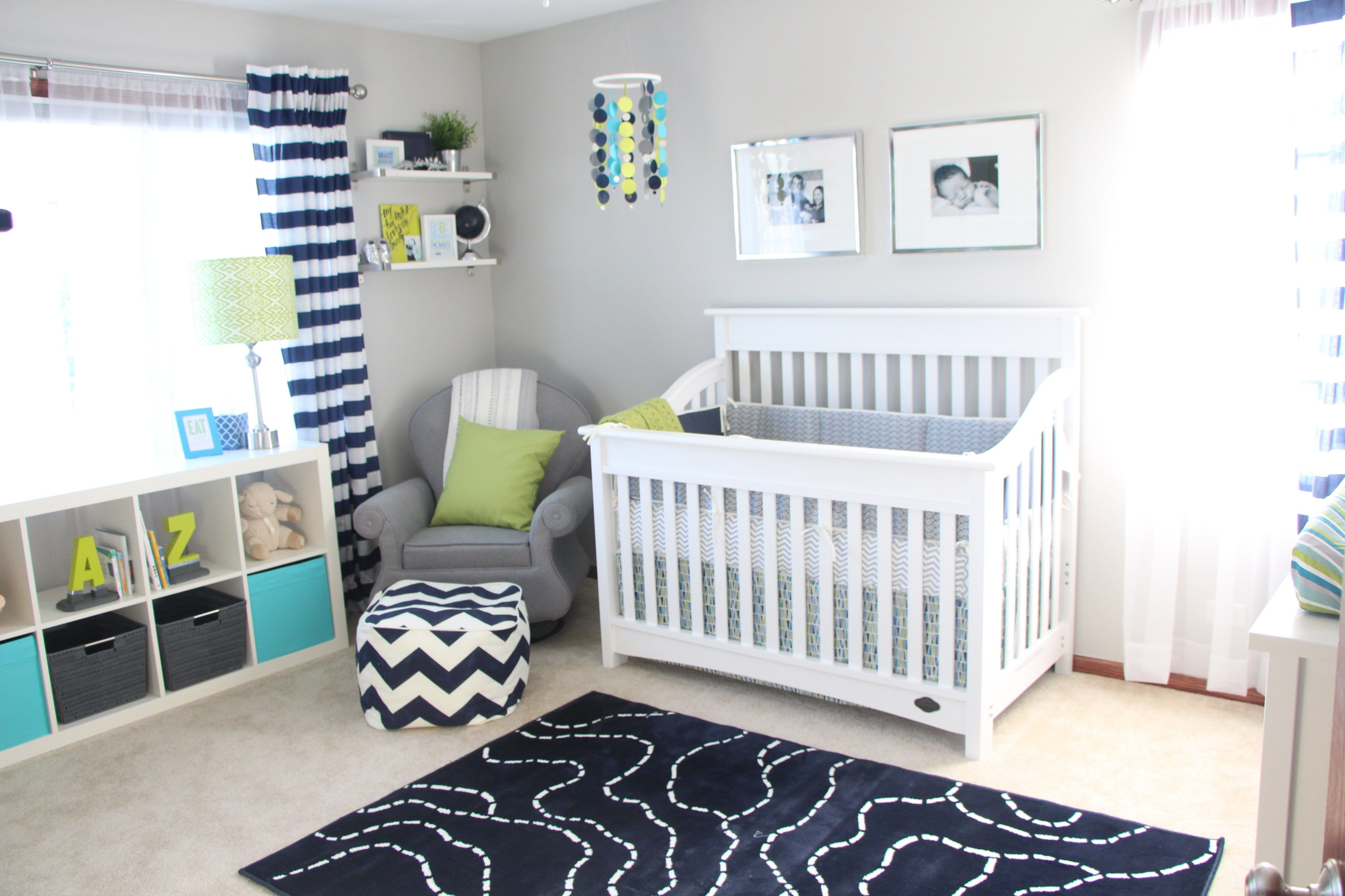 Baby Boy Bedroom theme New Simon S Nursery Reveal