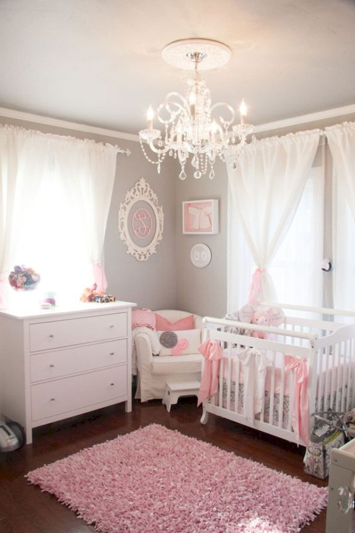 Baby Girl Bedroom Decor Awesome 33 Adorable Nursery Room Ideas for Baby Girl