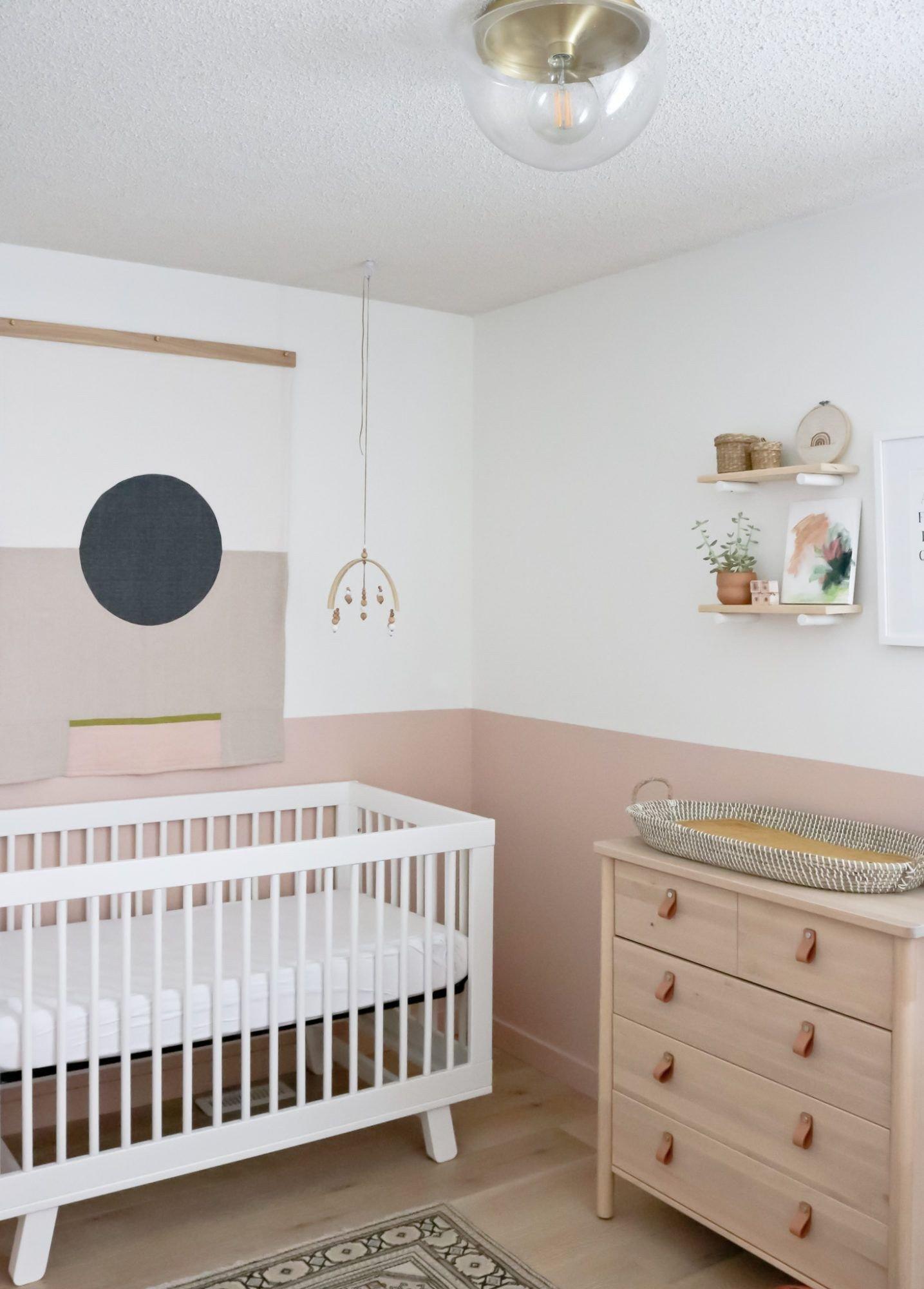 Baby Girl Bedroom Decor Elegant the Nursery Reveal – Baby Girl E S New Room