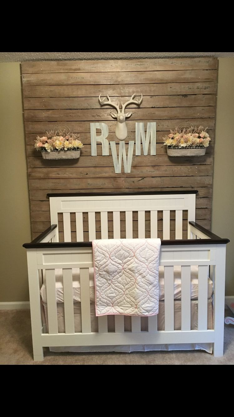Baby Girl Bedroom Decor Fresh Rustic Nursery Girl …