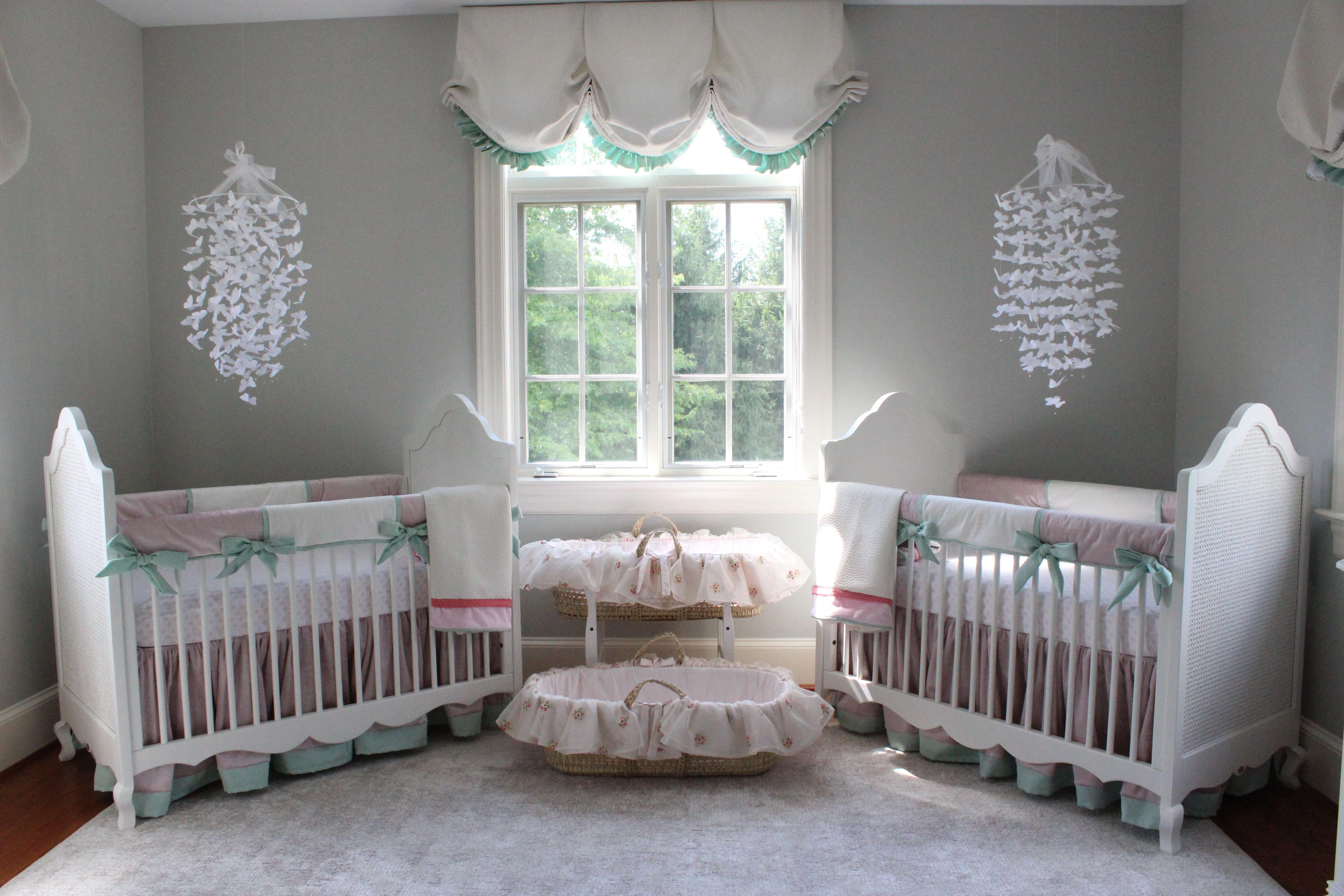 Baby Girl Bedroom Decor Inspirational Katz Twin Nursery Reveal