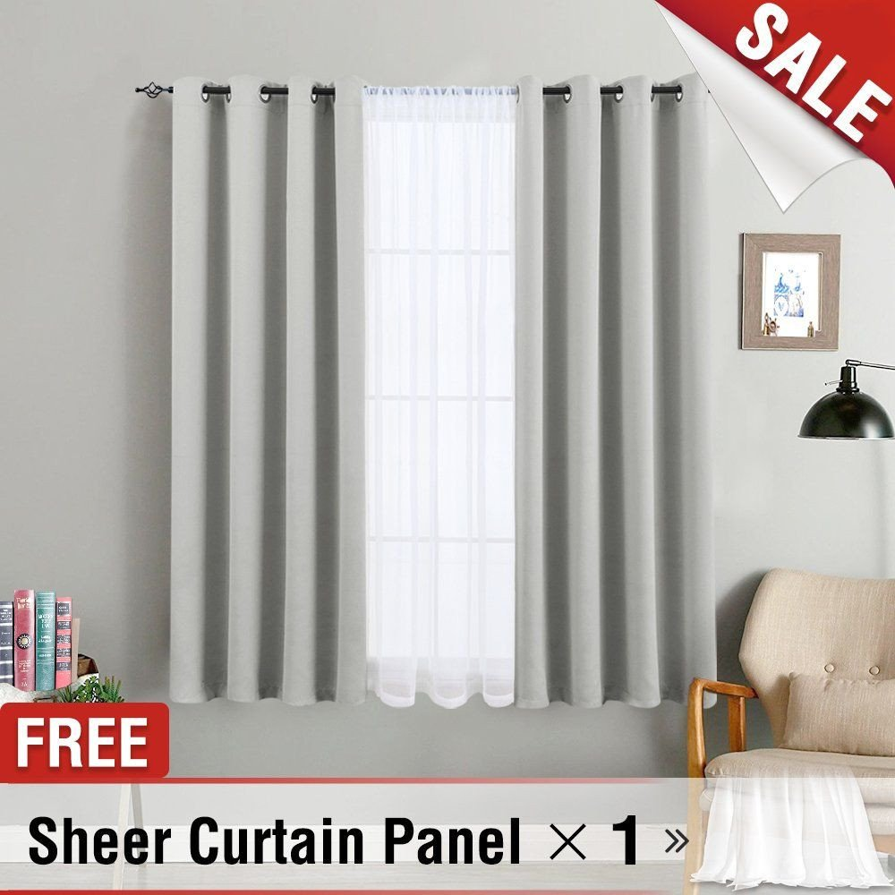 Balloon Curtains for Bedroom Elegant Blackout Curtains for Bedroom Grey Curtain Panel thermal