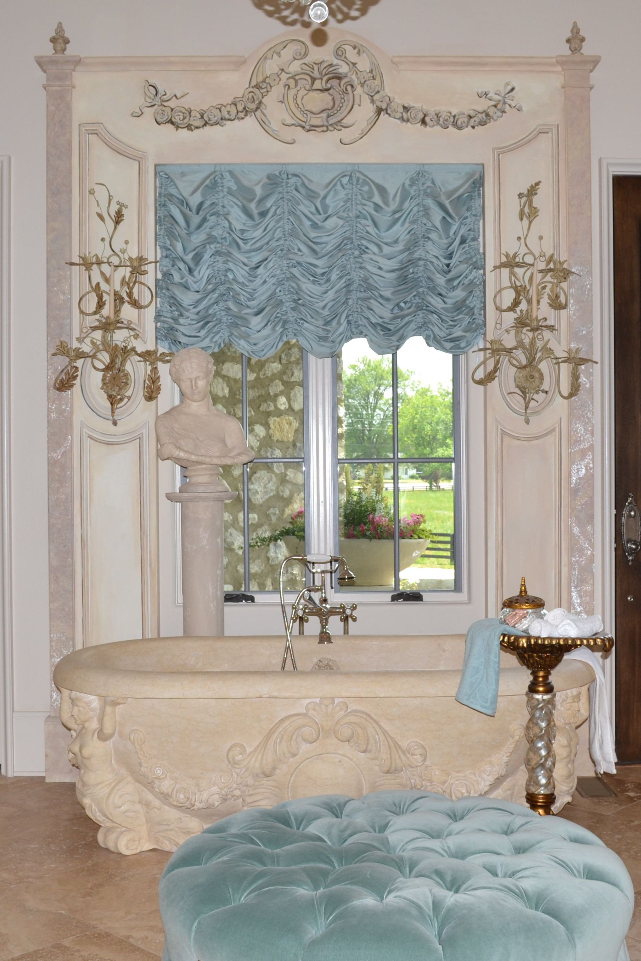 Balloon Curtains for Bedroom Elegant This Beautiful Sheer Austrian Shade Was Created for A Client