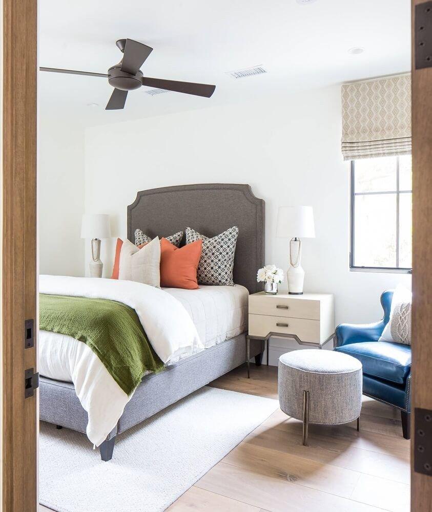 Beach theme Bedroom Decor Inspirational Newport Coast California Beach House tour