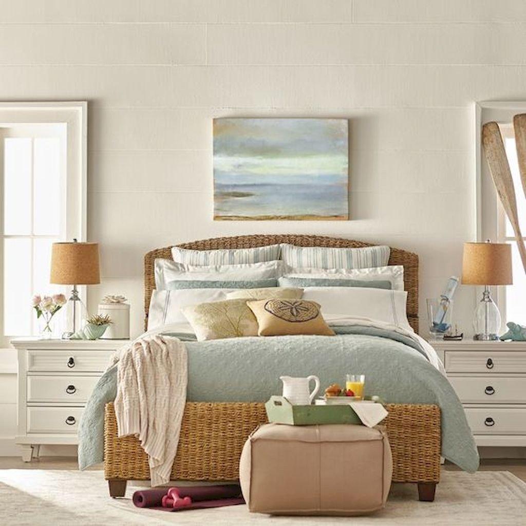 Beach theme Bedroom Decor Inspirational Romantic Coastal Bedroom Decorating Ideas 44