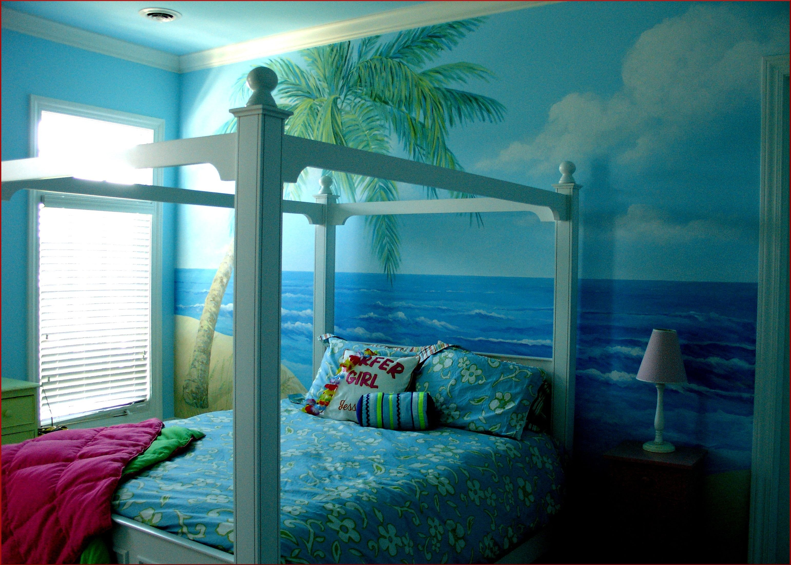 Beach themed Girls Bedroom Beautiful Beach Cottage Decor Beachy Bedroom Beach Bedroom White