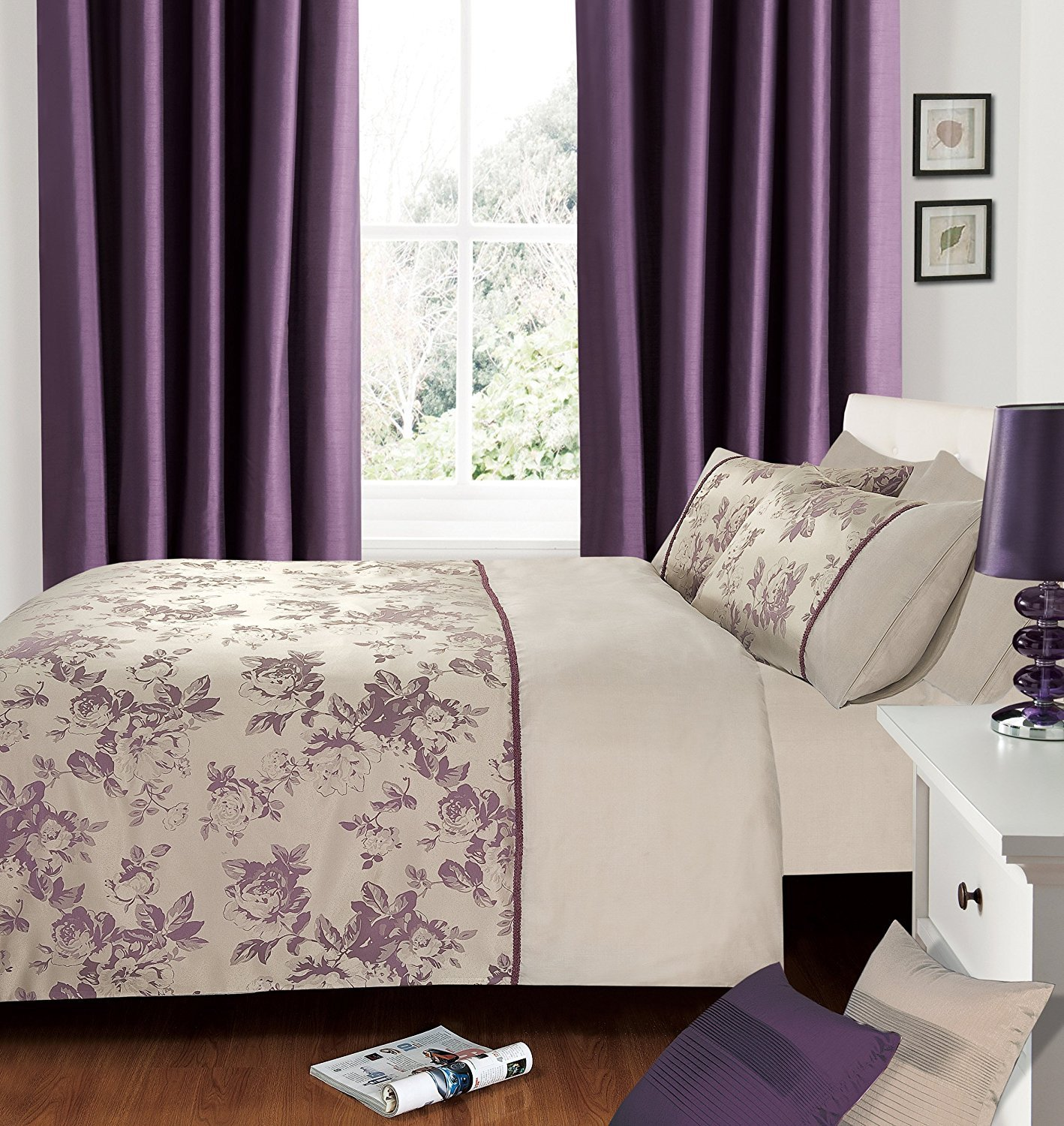 Bedroom Bedding and Curtain Set Inspirational 62 Most top Notch Purple Bedding Sets Mauve Duvet Cover