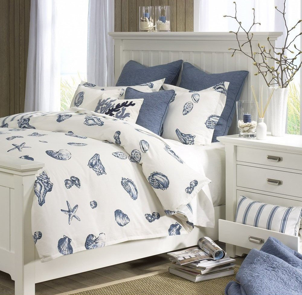 Bedroom Bedding and Curtain Set Inspirational Bed & Bedding Dazzling Beach themed Bedding for Cozy