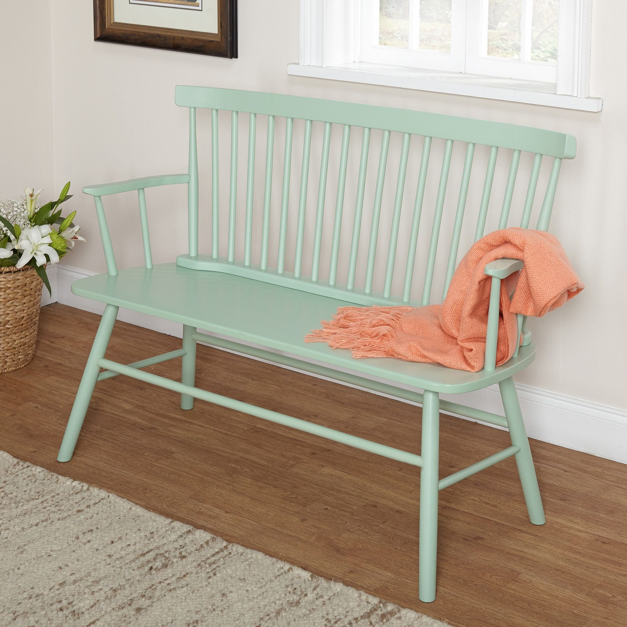 Bedroom Bench with Back Awesome Features Beautiful and Urban Country Look Classic