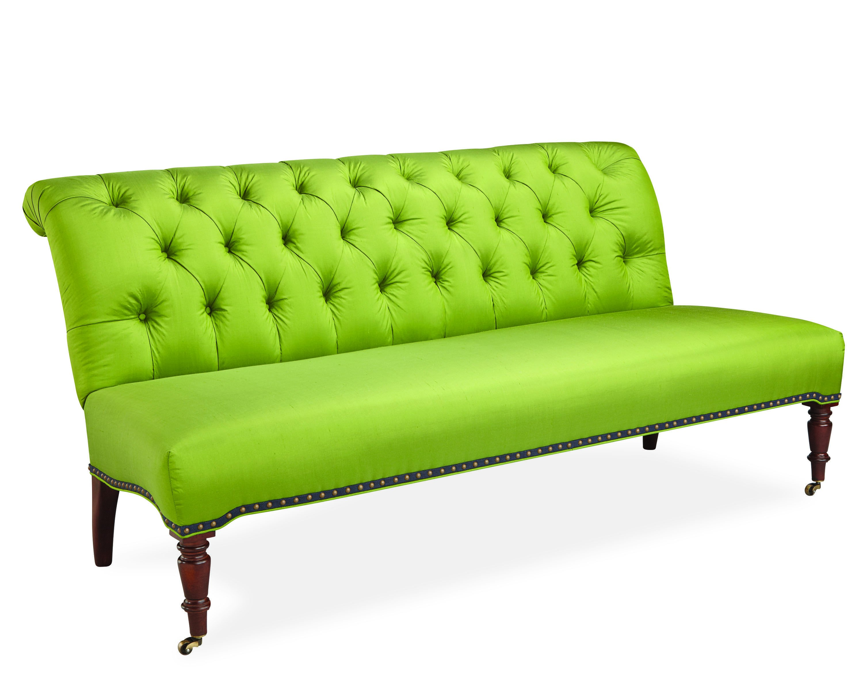 Bedroom Bench with Back Best Of Color From Lee Settee In Parrot Green