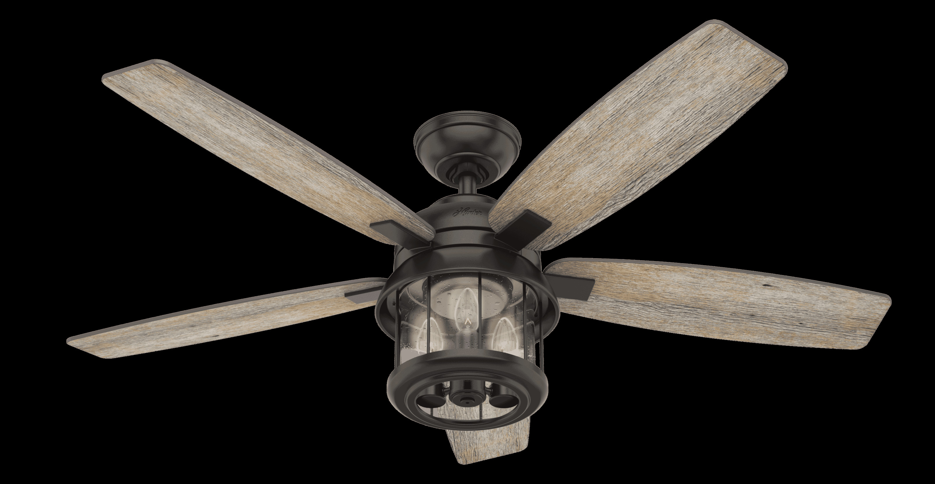 "Bedroom Ceiling Fans with Light Fresh Hunter Fans Coral Bay 3 Light 52"" Indoor Outdoor Ceiling Fan In Noble Bronze"