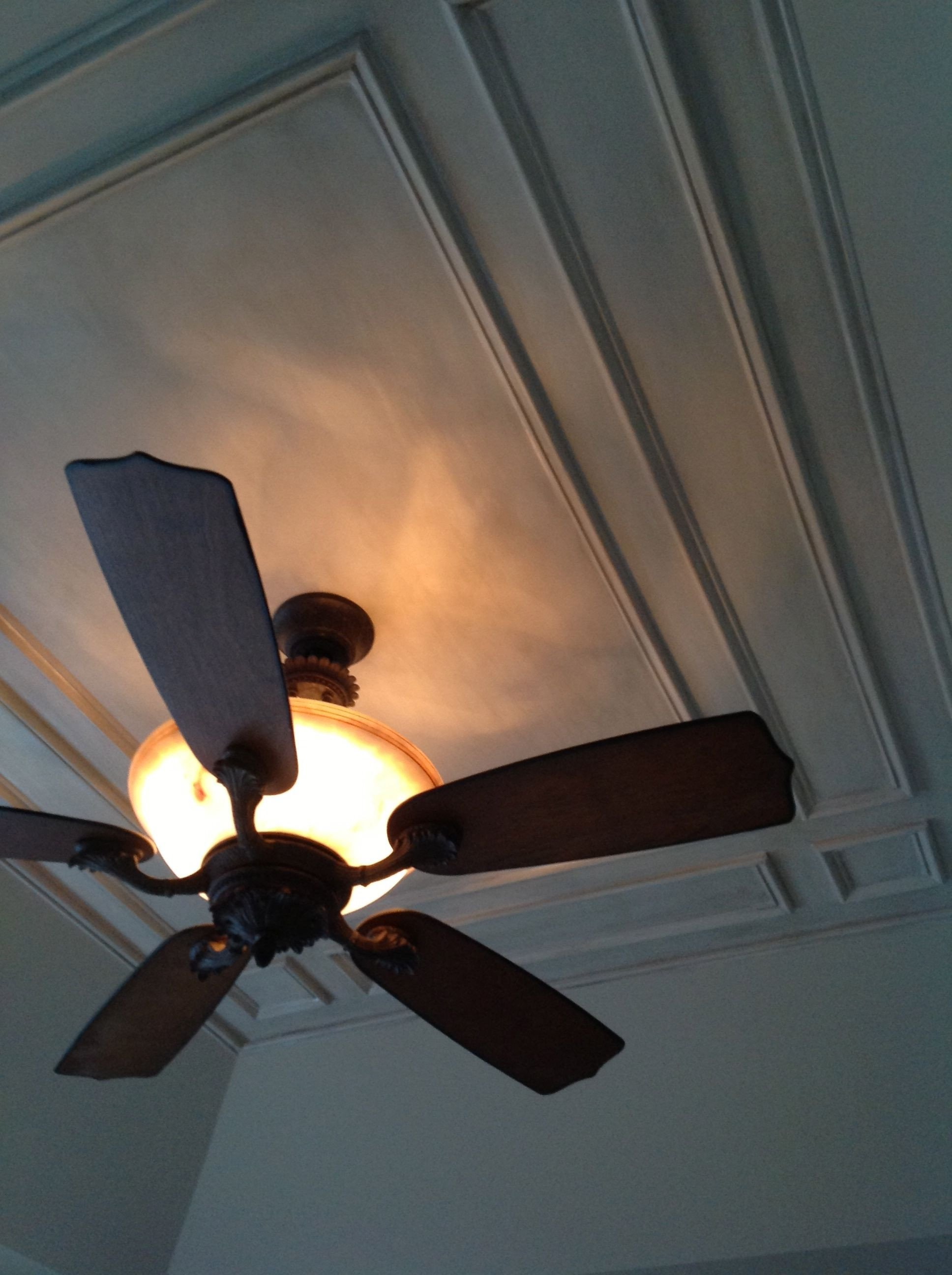 "Bedroom Ceiling Fans with Light Lovely Details On Ceiling Tray ""driftwood"" Gray Faux Finish Duh"