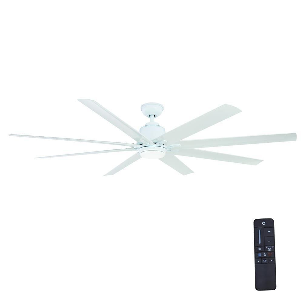 Bedroom Ceiling Fans with Light Unique Home Decorators Collection Kensgrove 72 In Led Indoor Outdoor White Ceiling Fan with Light Kit and Remote Control