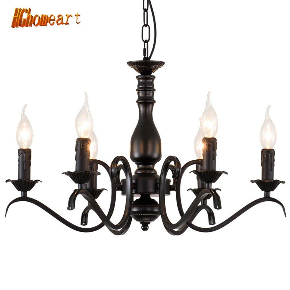 Bedroom Ceiling Light Ideas Awesome Hghomeart Chandeliers Iron Candle Light European Style Od