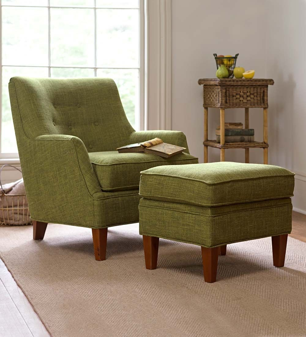 Bedroom Chair with Ottoman Unique Emily Upholstered Chair and Ottoman Set Chairs