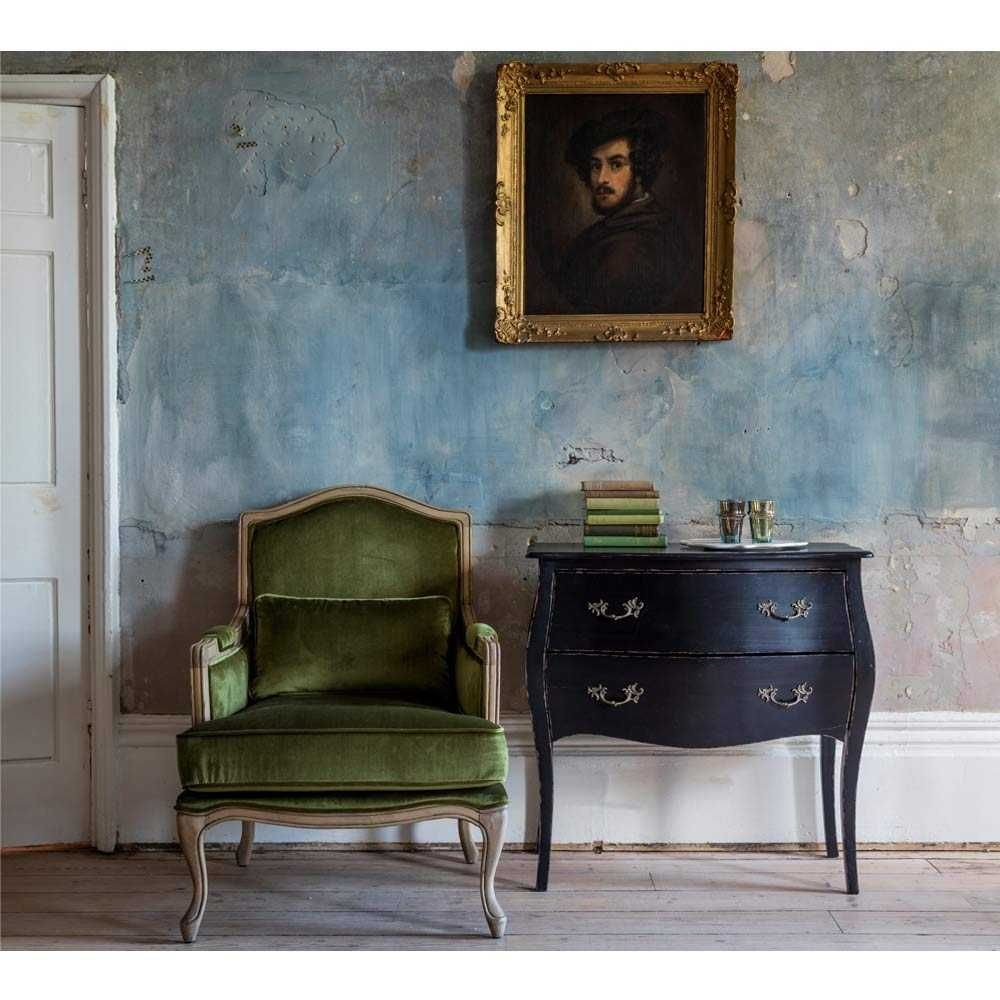 Bedroom Chairs for Sale Lovely Hathaway Moss Green Velvet Armchair French Bedroom Chair