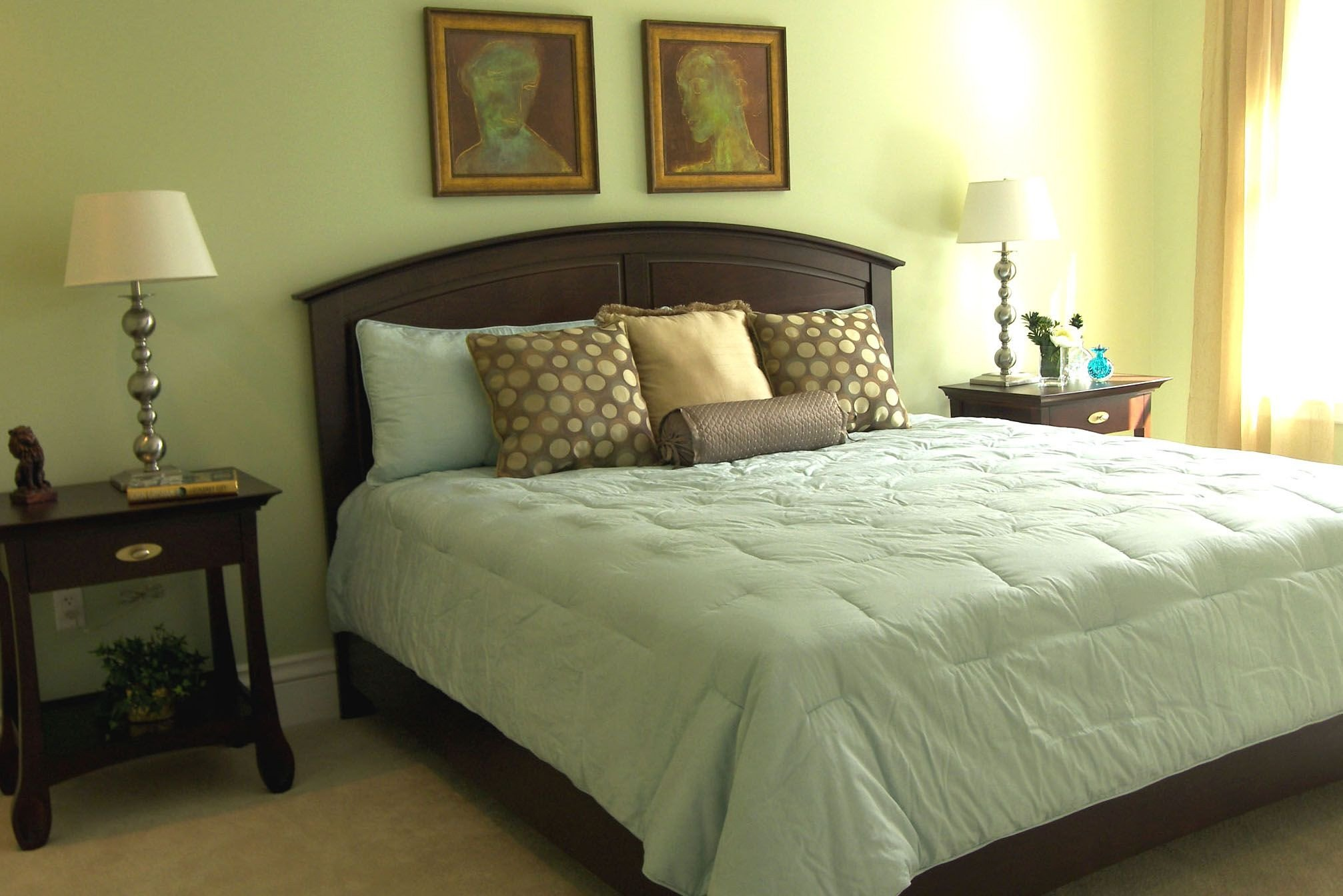 Bedroom Colors with Brown Furniture Luxury Brown Bedroom Green Bedding the Move Interiors