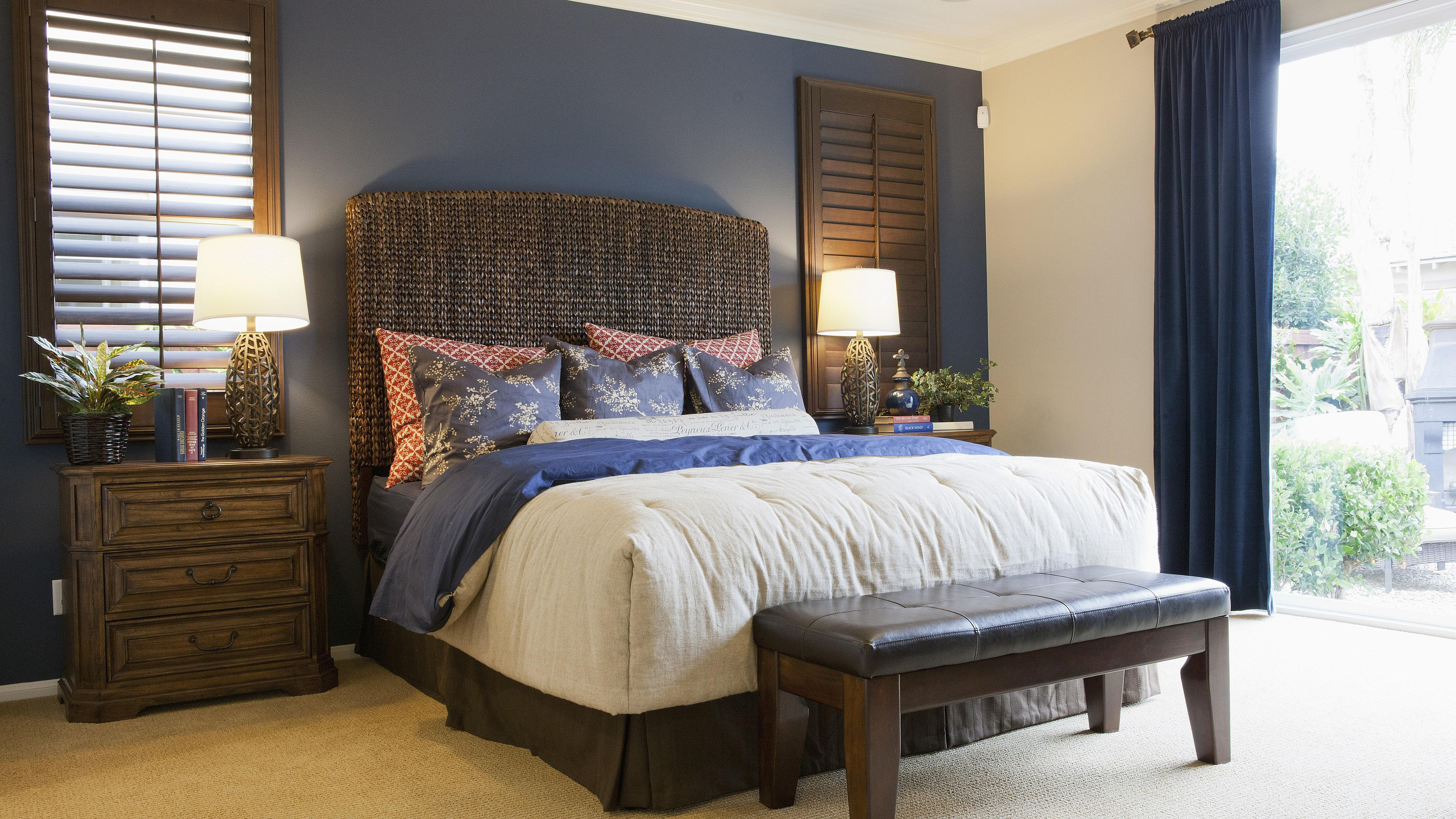 Bedroom Colors with Brown Furniture New How to Choose A Bedroom Accent Wall and Color