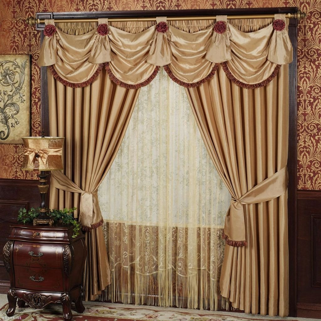 Bedroom Curtain Ideas Small Windows Luxury Elegant Curtains with Valance Regarding Really Encourage In