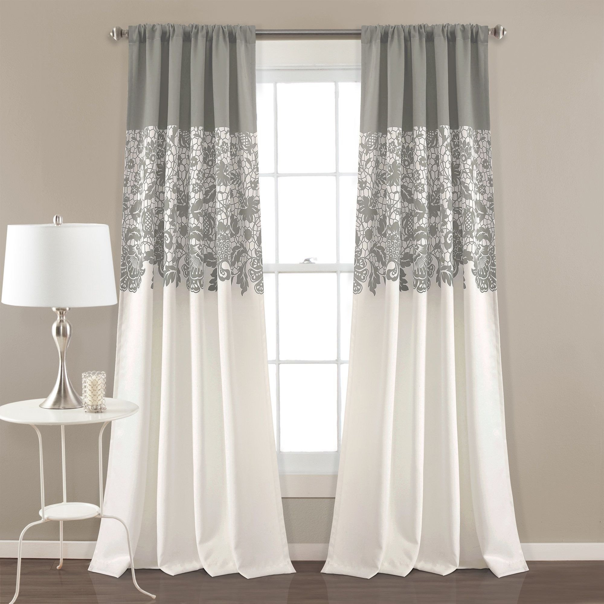 Bedroom Curtains and Drapes Awesome Santa Fe Print Floral Room Darkening thermal Rod Pocket
