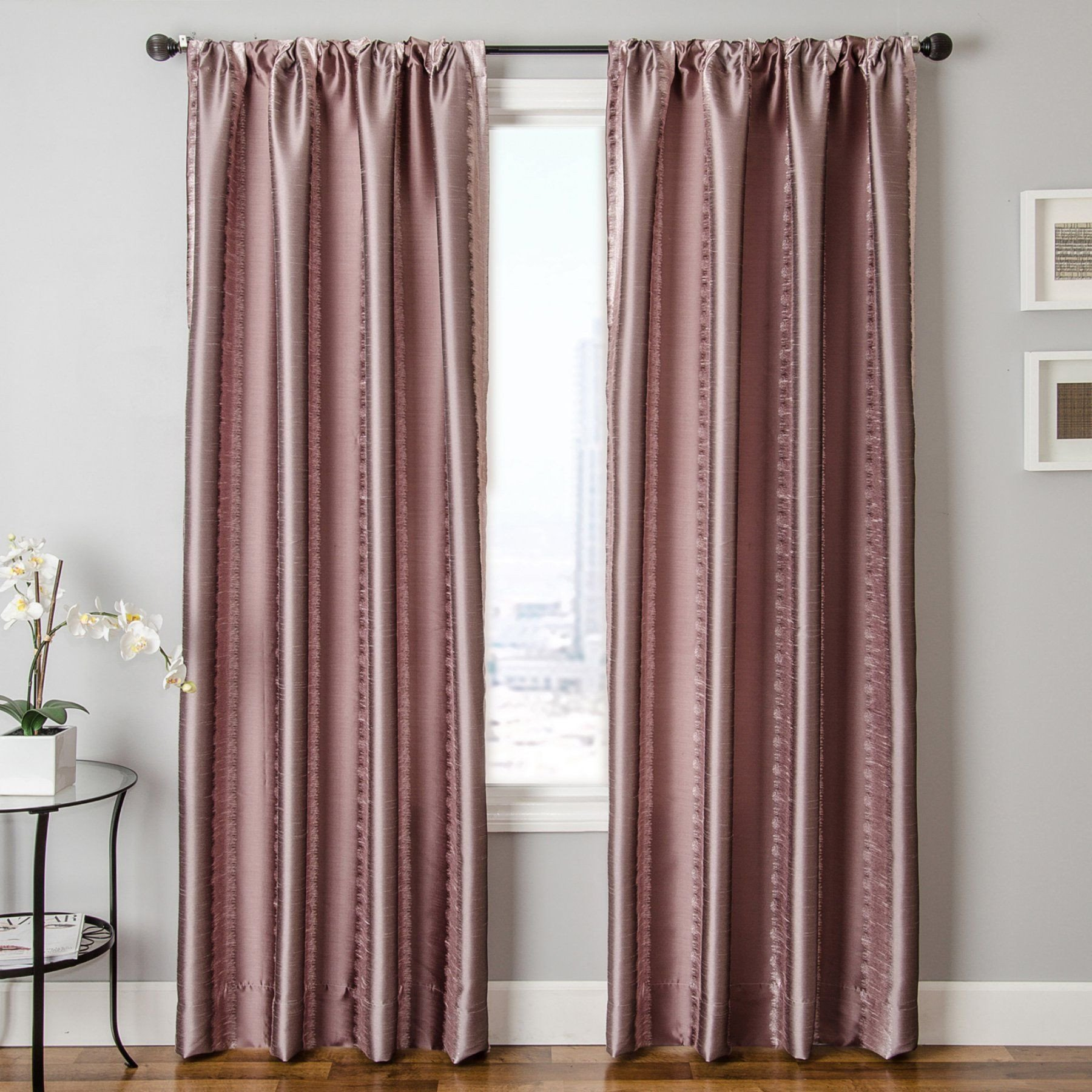Bedroom Curtains at Walmart Beautiful Fable Rod Pocket Curtain Products
