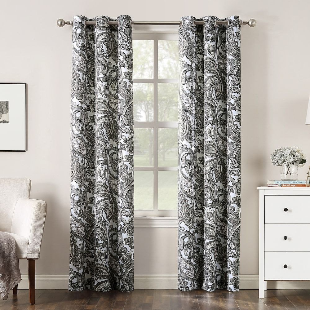 Bedroom Curtains at Walmart Fresh the Big E 2 Pack Floral Decorative Window Curtains