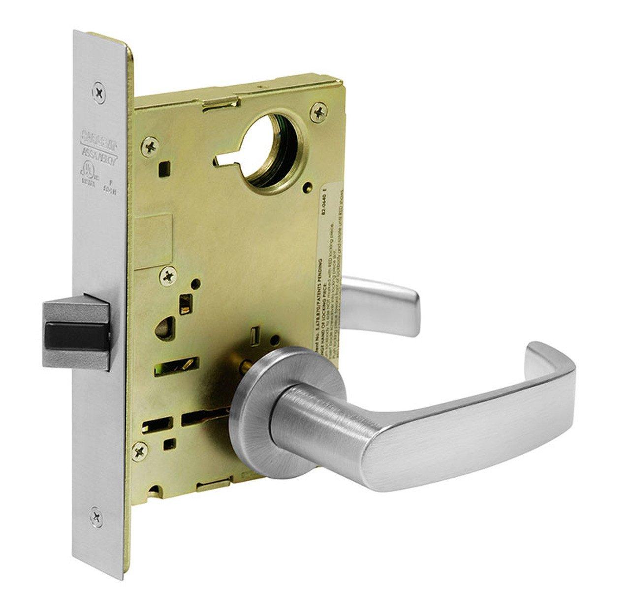 Bedroom Door Handle with Lock Beautiful Sargent 8215 Lnl 26d Passage Mortise Lock Ln Rose L Lever
