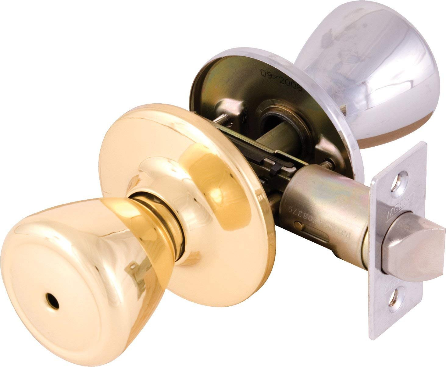 Bedroom Door Handle with Lock Inspirational Legend Tulip Style Door Knob Privacy Bed and Bath Lockset E Side Polished Brass E Side Chrome Us26 Chrome Us3 Polished Brass Finish