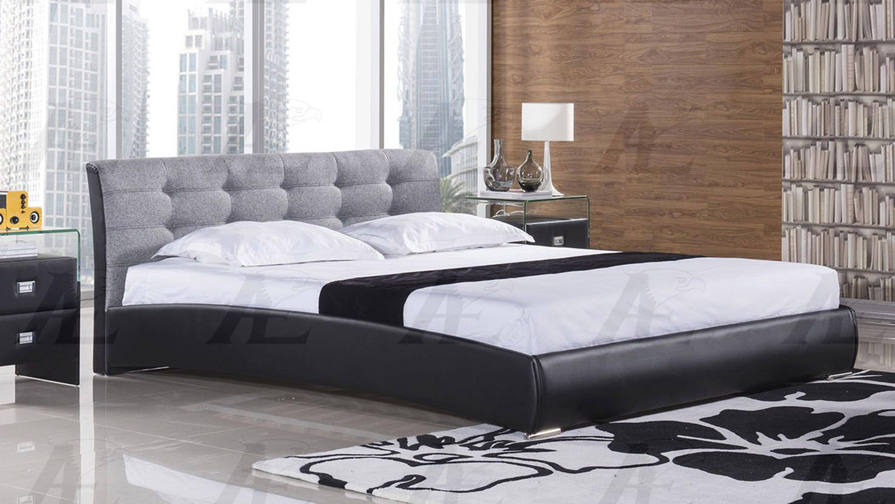 Bedroom Furniture for Cheap Awesome American Eagle B D055 Queen Platform Bed In Gray Fabric