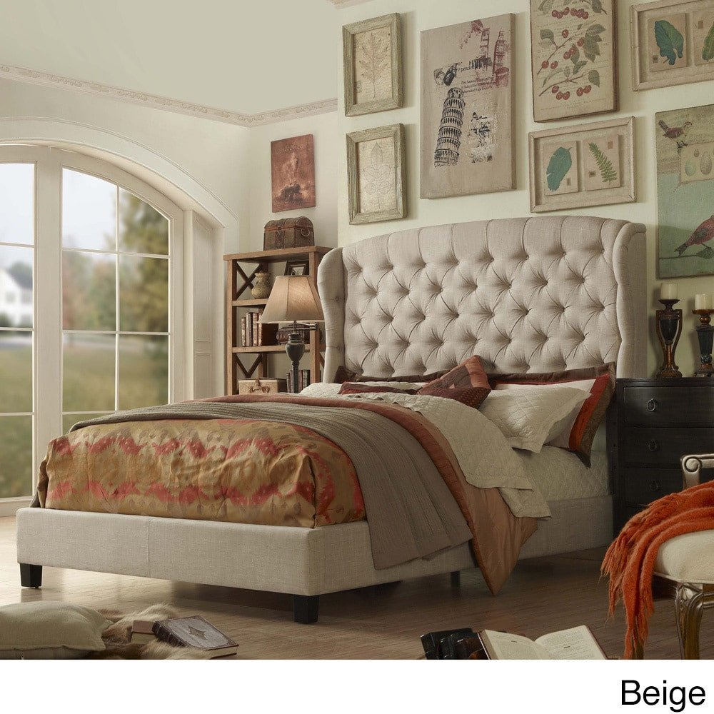 Bedroom Furniture Hardware Replacement Awesome Moser Bay Queen Size Tufted Upholstered Bed Set