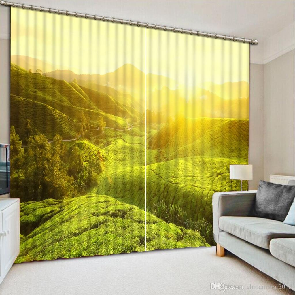 Bedroom In A Bag with Curtains Awesome 2019 Custom Luxury Curtains 3d Hd Balcony Tree Scenery Curtains for Living Room Hotel Cafe Home Decor Curtain Drapes From Chinamural2015 $137 69