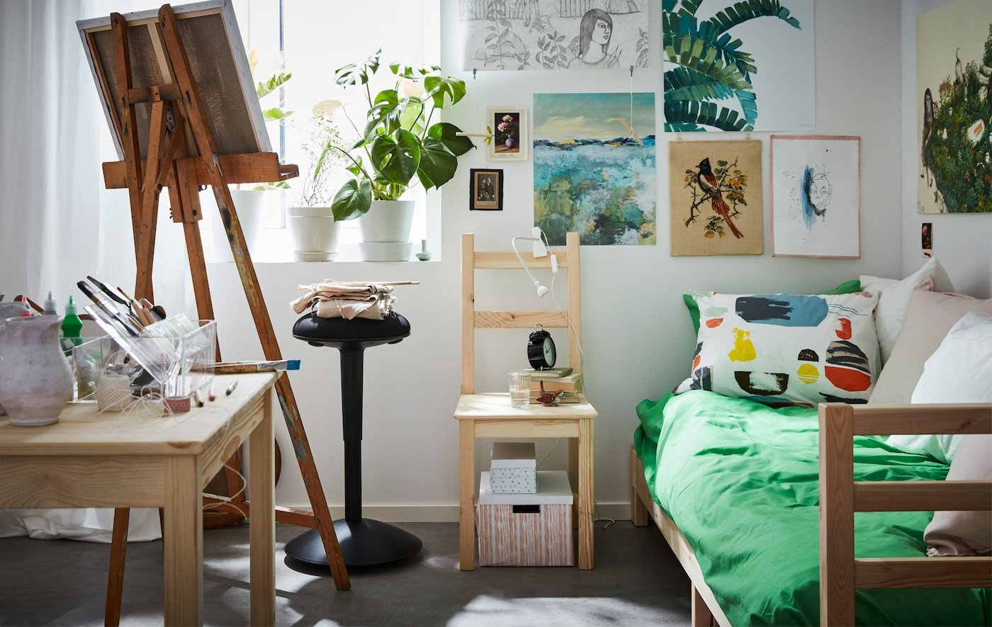 Bedroom In A Bag with Curtains Beautiful Creative and Cute Dorm Room Ideas Ikea