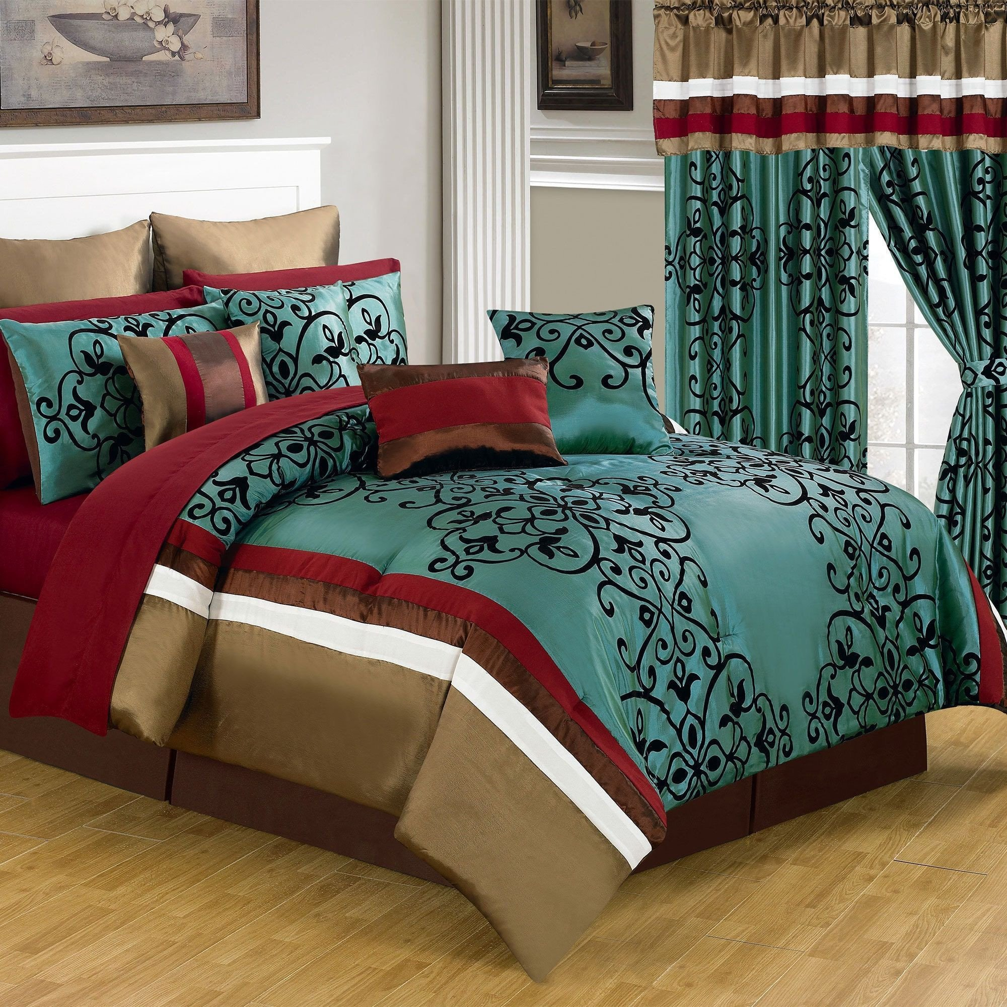 Bedroom In A Bag with Curtains Elegant Trademark Windsor Home Eve Room In A Bag Bedroom Set