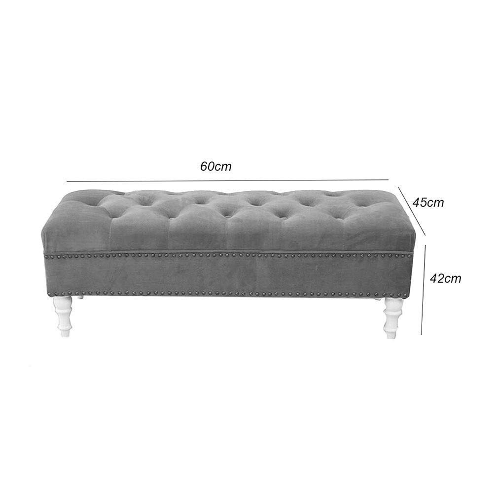 Bedroom Ottoman Storage Bench Unique Amazon Rectangular Tufted Fabric Ottoman Shoes Bench