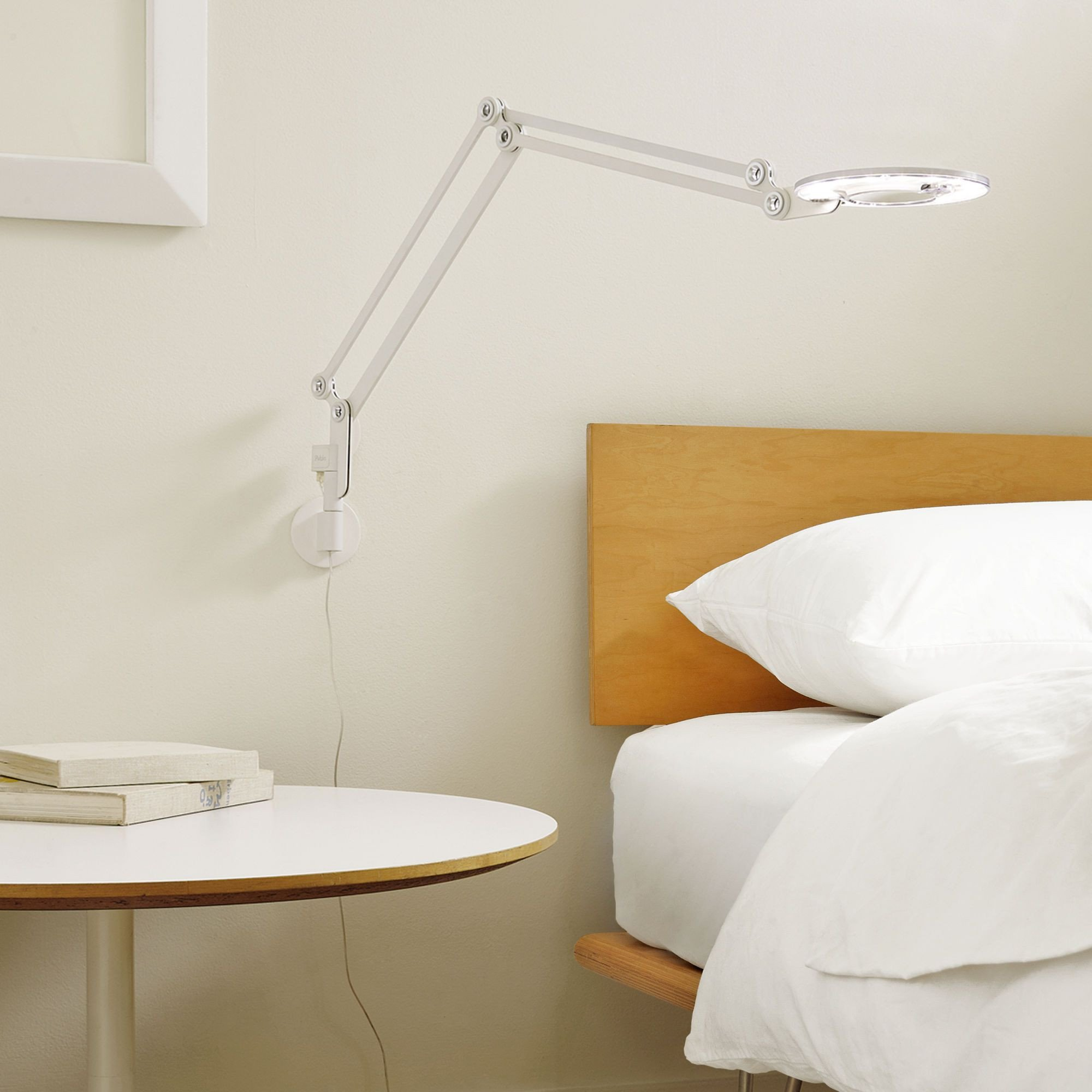 Bedroom Reading Light Wall Mounted Elegant Link 1 Light Swing Arm