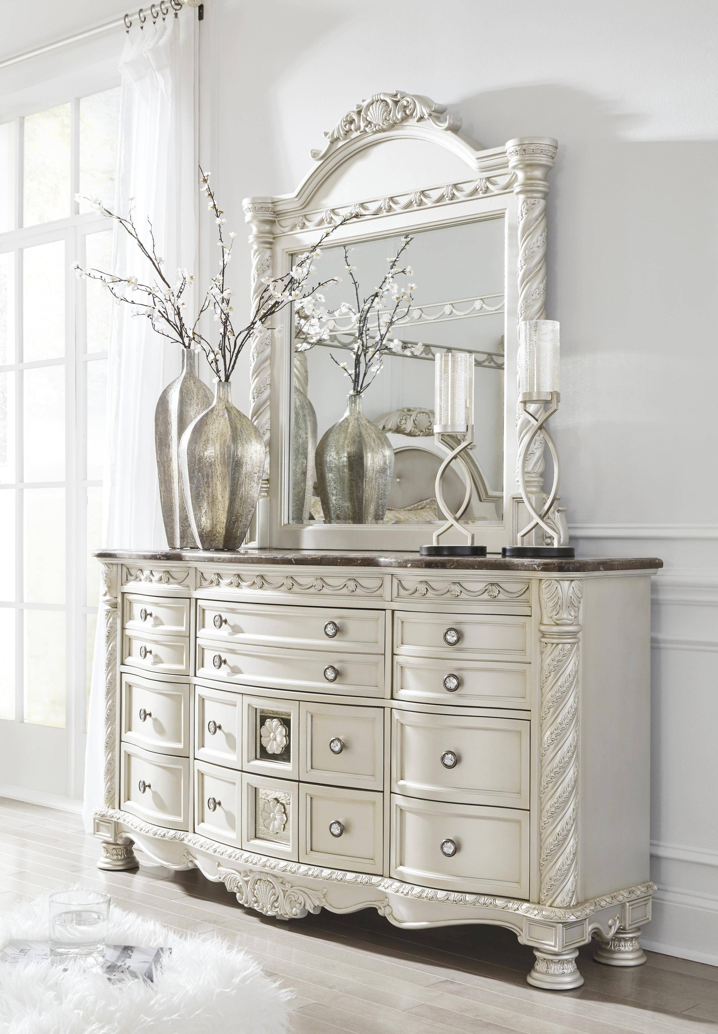 Bedroom Set ashley Furniture Elegant ashley Cassimore B750 Queen Size Sleigh Bedroom Set 5pcs In