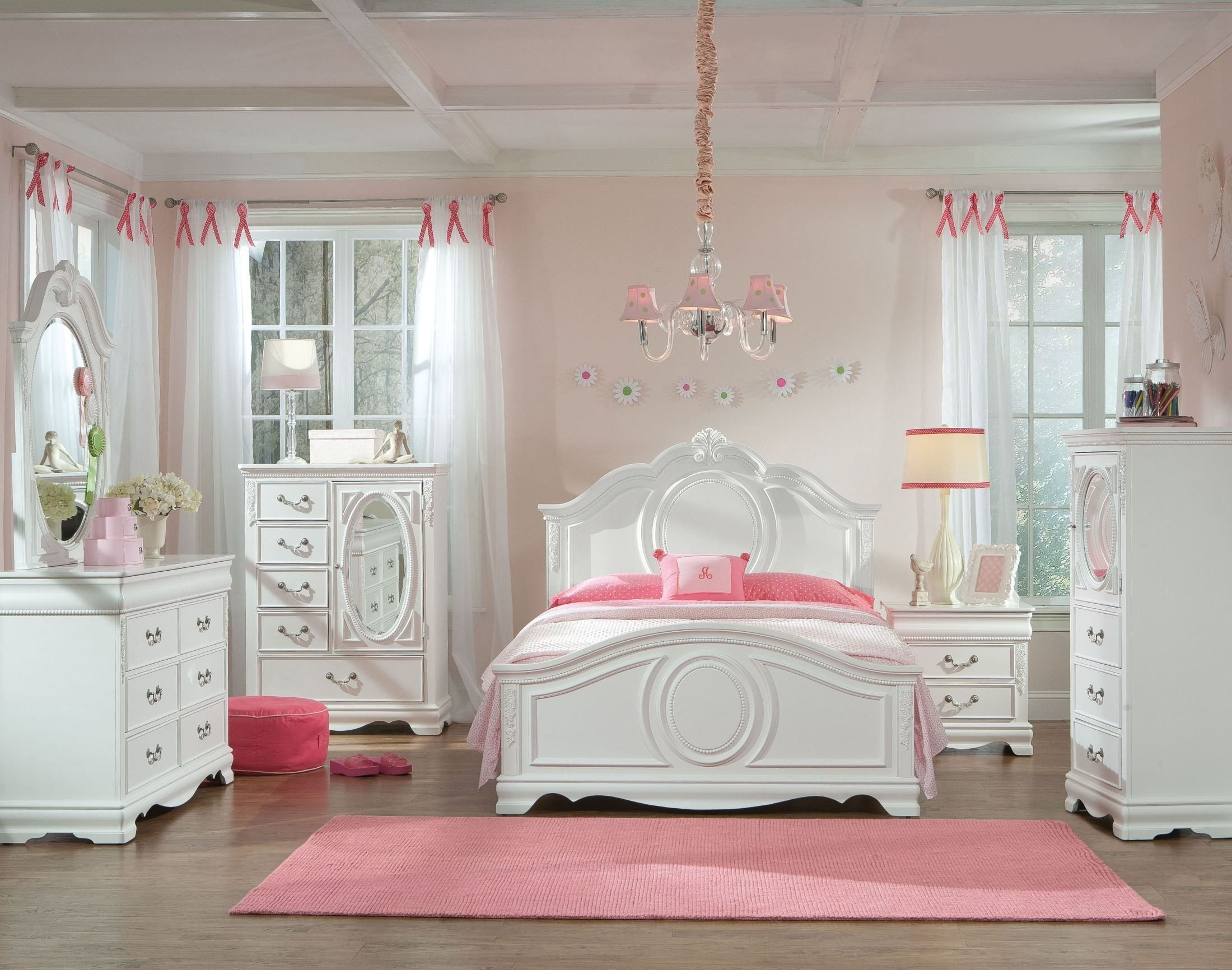 Bedroom Set for Girl Unique Jessica Clean White Youth Panel Bedroom Set for the Home