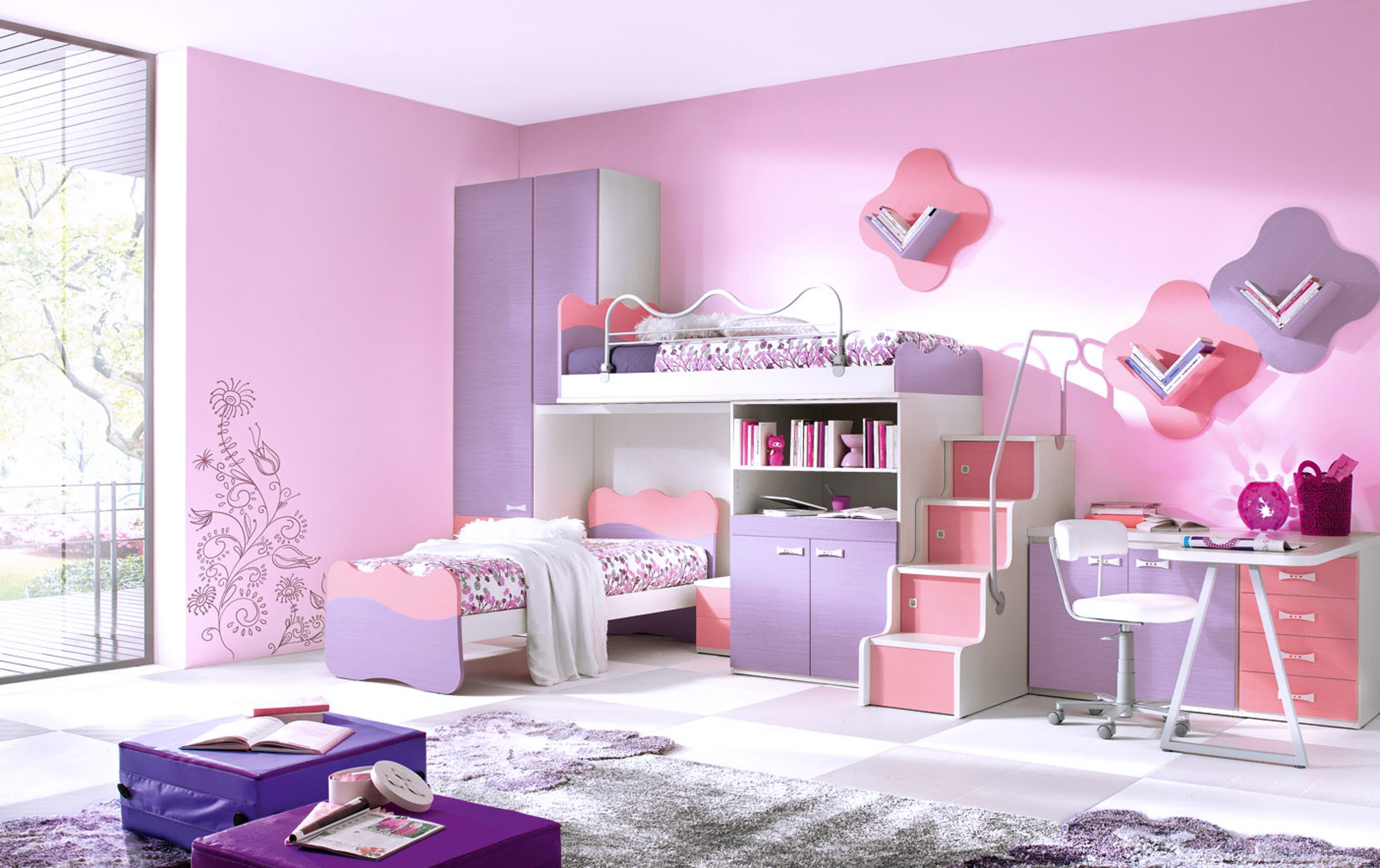 Bedroom Set for Girls Beautiful 35 Pink Girly Bedroom Color Schemes that Will Make