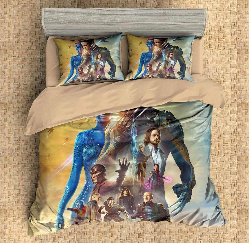 Bedroom Set for Men Lovely 3d Customize X Men Bedding Set Duvet Cover Set Bedroom Set