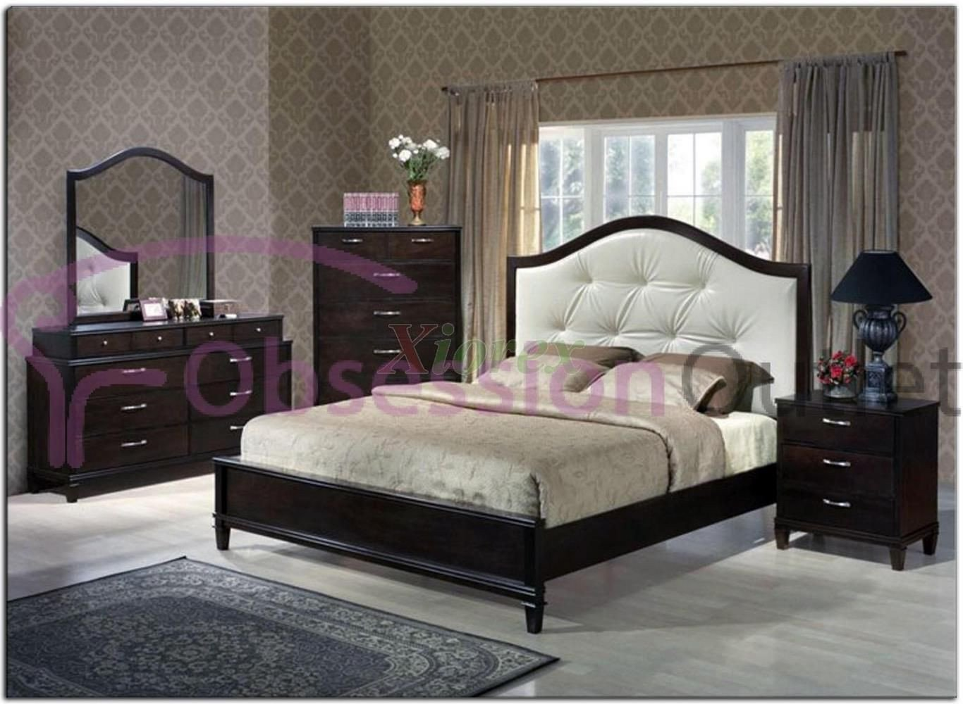 Bedroom Set with Mattress Elegant Sku Cpb204